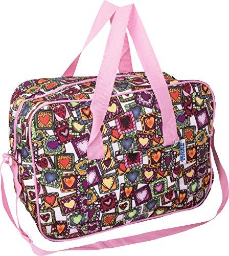 Enrico coveri mare borsa frigo termica da donna, perfetta per trasportare il vostro pranzo e la vostra merenda, capacità 40 litri, spessore 3mm vari colori (rosa)