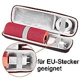 Shucase für Ultimate Ears UE Boom 2/UE Boom 1 Tragbarer Bluetooth Lautsprecher. Passend für EU-Ladegeräte mit Reißverschluss und Tragegriff
