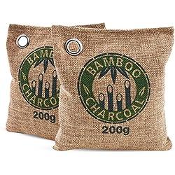 Ambientador natural anti-humedad de carbón de Bambú 100% Bio