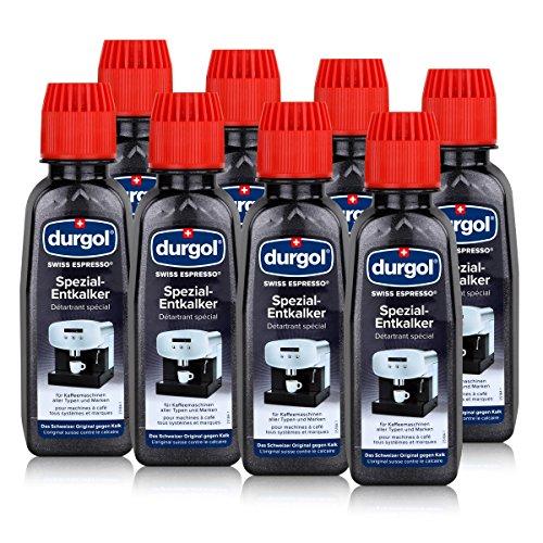 Durgol Swiss Espresso - Spezial-Entkalker - Kaffemaschinen, 2x125ml (4 Pack)