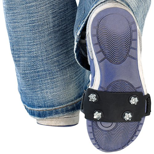 Semptec Urban Survival Technology Schuhspikes Überzieher: 1 Paar Schuh-Spikes