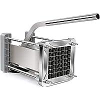 Sopito Taglia Patate  Fritte Acciaio Professionale Patata Fresa con Lame da 1 2 Pollice per Uso Domestico e Commerciale