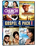 Gospel 4-Pack: Volume 1 (Church: The Movie / The Last Brickmaker in America / Let God Be the Judge / God Send Me a Man)