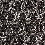 Fabulous Fabrics Elastische Spitze mit Metallfaden -