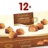 Cupido Cappucchino Chocolade Truffels 12 x 175g Packung (Trüffelpraline mit Cappucchinogeschmack)