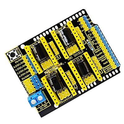 MagiDeal 3D Printer Stepper Motor Fahrer CNC Shield V3.0 Für Arduino