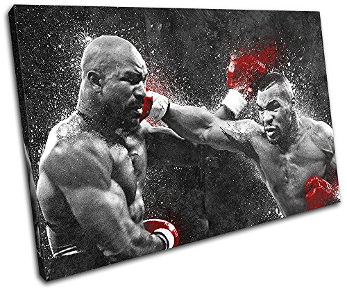 bold-bloc-design-mike-tyson-boxing-grunge-sports-90x60cm-single-canvas-art-print-box-framed-picture-