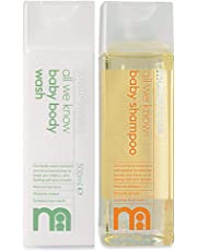 Mothercare All We Know Baby Body Wash and Shampoo (300/300 Ml)
