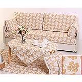 KA-ALTHEA- algodón europeo de espesor cojín del sofá de tela moderna minimalista cuatro estaciones se deslizan bahía cojín funda de sofá ventana cubierta de sofá toalla (E dsection) -El amortiguador del sofá conjuntos de sofás Funda ( Tamaño : 90*180cm )