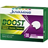 JUVAMINE - BOOST Vitamine C Ginseng & Guarana - 30 Comprimés à croquer