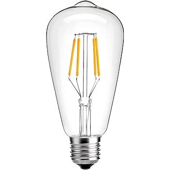 e27 ampoule edison 4w oak leaf r tro dimmable ampoule de filament led st64 ampoule vintage. Black Bedroom Furniture Sets. Home Design Ideas