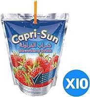 Capri Sun Strawberry, 200 ml - Pack of 10