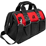 """Rigsafe 12"""" & 15 """" Heavy Duty Tool Bag , Reinforced Metal Accessories (15"""" ( Large ))"""