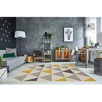 The Rug House Milan Moderner Teppich im Retro-Design mit ...