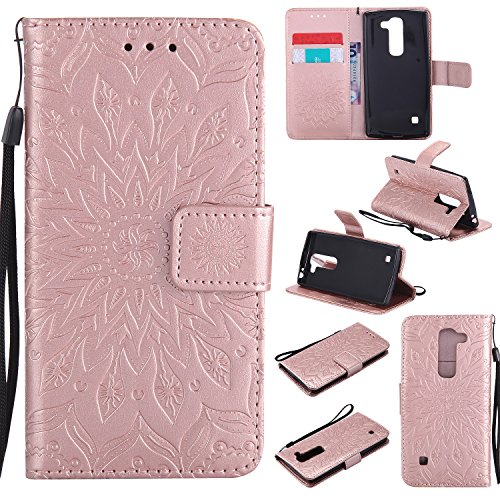 for-lg-c70-case-rose-goldcozy-hut-wallet-case-magnetic-flip-book-style-cover-case-high-quality-class