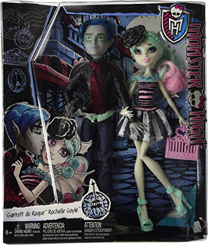 Monster High Love in Scaris [Garrott du Roque and Rochelle Goyle] Alla Camera