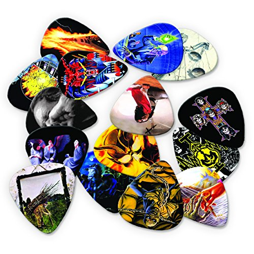 Live Performance Heavy Metal Classic Albums 15 X Guitar Picks Collection
