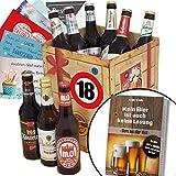 Geschenk zum 18- Jährigen Jubiläum - Biergeschenkebox mit - Best Reviews Guide