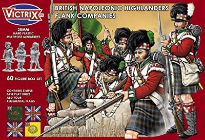 INF.LIGNE BRITANNIQUE HIGHLANDERS 1808/1815 - Victrix