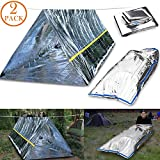 Best Survival Shelters - CEEBON Emergency Mylar Thermal Survival Tent and Sleeping Review