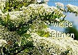 weiße Blüten (Wandkalender 2015 DIN A4 quer): Die Natur bezaubert auch mit wenig Farbe. (Monatskalender, 14 Seiten)