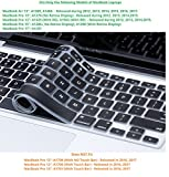 #3: Plastron Soft Silicone Keyboard Protector for MacBook Air 13
