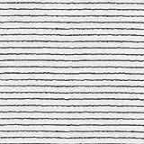 Schiebegardinen Flächenvorhang Gardinenstoff Vorhangstoff Meterware für Gardinen, Vorhänge, etc. - Halbtransparent Panelo Nature 50cm Natur Grau