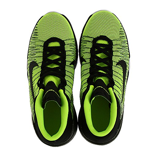 Nike Zoom Ascention (Gs), Scarpe da Basket Bambino Verde (Volt / Black-White)