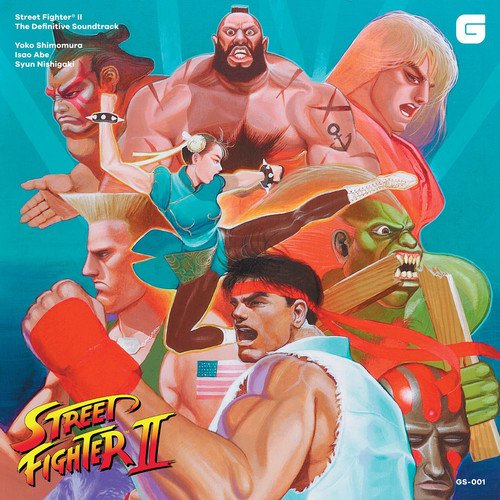 Street Fighter II [Vinyl LP] (Brave Film-soundtrack)