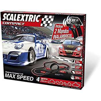 Scalextric Speed circuit Max Compact Sans Fil