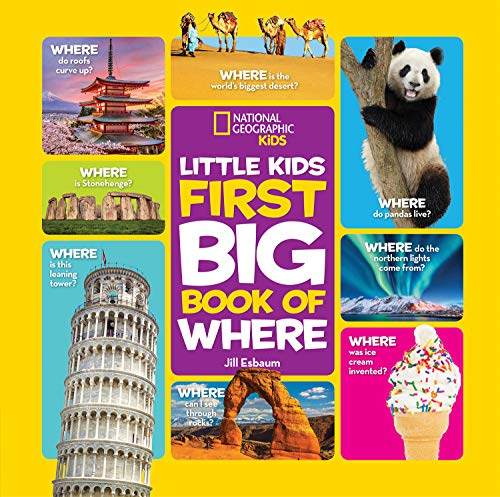 National Geographic Little Kids First Big Book of Where (National Geographic Little Kids First Big Books) (English Edition)
