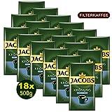 Jacobs KRÖNUNG MILD gemahlen 18x 500g (9000g) - Jacobs Filterkaffee, Kaffee