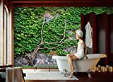 Fototapete STEINWAND MIT BAUM Nr.8T-153 Bordüre Wandtatoo wallpaper wall mural