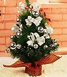 EVERY 45CM Weihnachtsbaum Kunstlich Weihnachtsdeko Weihnachtsbaum Weihnachtsgeschenke Geschmückter Weihnachtsbaum mit Kugeln
