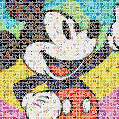 (Ceaco Disney Emoji Mickey Mouse Puzzle (300 Piece) by Ceaco)