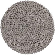 Teppich rund grau filz  Suchergebnis auf Amazon.de für: Teppich Filz Rund