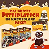 Das große Pittiplatsch im Koboldland - Paket (mit Pittiplatsch Puppe mit Sound 30 cm + Frühstücksbrett + Tasse) (6 DVDs)