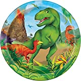 18cm Dinosaur Party Plates, Pack of 8