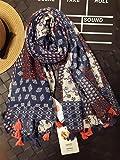 TS-nslixuan in Europa und in Den Vereinigten Staaten Frauen Gucci Schal Schal Schals und Tücher Sommer Dünne Baumwolle Blumenkunst Folk Stil, Klein 5