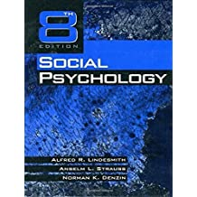 Social Psychology by Alfred R. Lindesmith (1999-03-11)