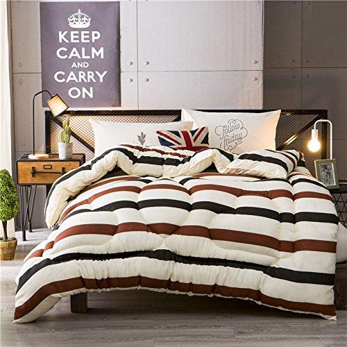 Polyester Betten/Bettwaren Wärme Voll/Queen/Voll/Twin Size Daunendecke Bettdecke einfügen, hypoallergen, genäht, bedruckt Quilt, Nakedwedding, 200 x 230 cm (3 Kg)