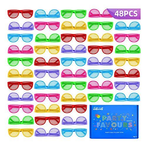 48 Gafas Persiana Granel Fiestas De Juguete Gafas