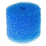 DRAK-Aquaristik Filterschwamm, rund, blau Größe 10 cm