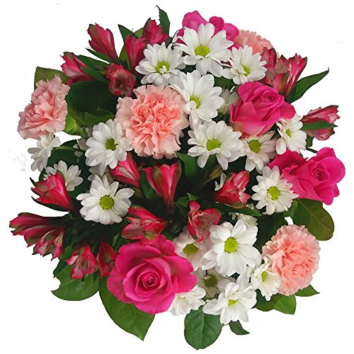 Clare Florist Pink and White Mother's Day Bouquet