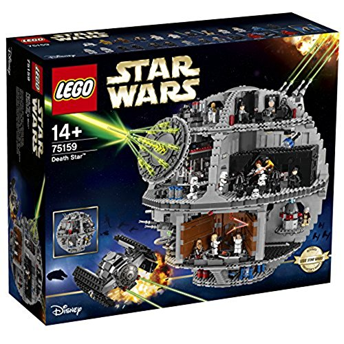 LEGO Star Wars 75159 - Death Star (Lego Minifigur Navy)