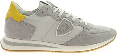 Philippe Model Sneakers TrpX Grigie e Gialle, 44