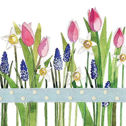 fiori primaverili Sacchetto regalo Alex Clark motivo