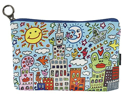Fridolin Trousse de Toilette Rizzi My New York City, 19 cm, Multicolore