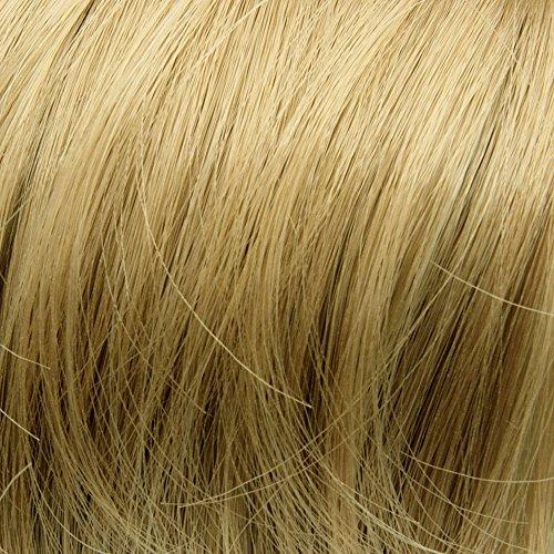 Prettyland - chignon spettinato extension grande toupet capelli posticcio elastico per capelli scrunchy nastro coda - bl30 luminoso biondi bianca