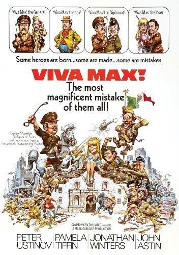 Viva Max by Jonathan Winters, John Astin Peter Ustinov